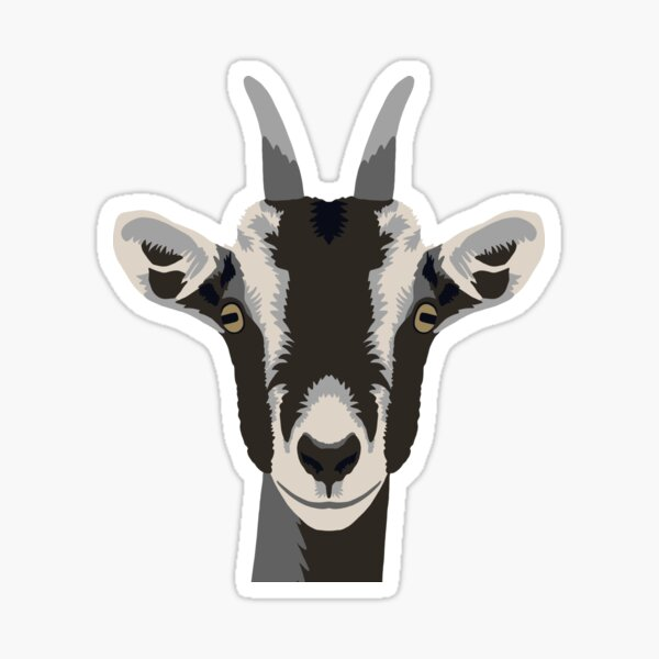 Goaty McGoatface Sticker