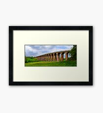 Balcombe Viaduct Panorama - HDR Framed Print