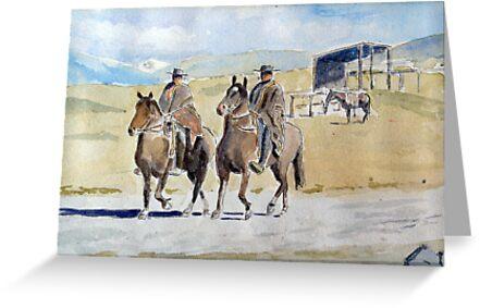 Gauchos by HurstPainters
