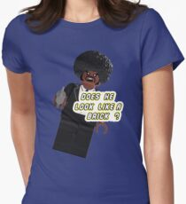 Lego Brick Fiction Parody Variant 03 Women's Fitted T-Shirt