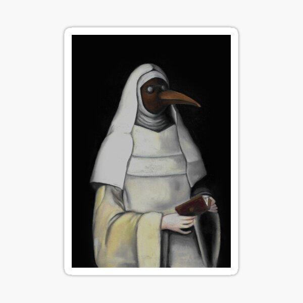 Nun with a Plague Mask Sticker