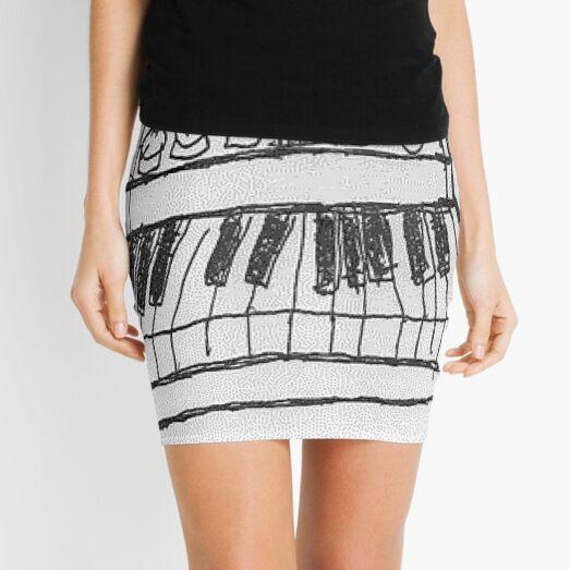 Analog Synthesiser - Light Version Mini Skirt