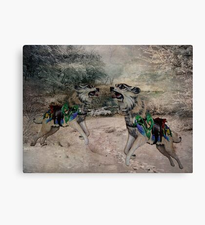 As The Wolf Does Canvas Print