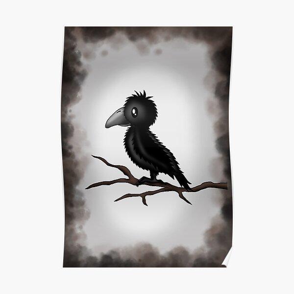 kleine Krähe Poster