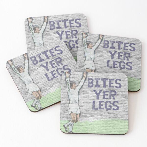Norman Bite Yer Legs Hunter Coasters (Set of 4)
