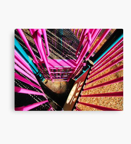 Pretty Pink Playset Canvas Print