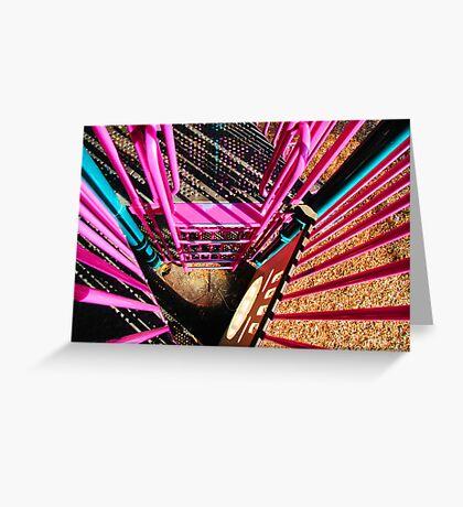 Pretty Pink Playset Greeting Card