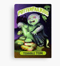 Potter Fail Kids - Terrible Tom - COLOR! Canvas Print