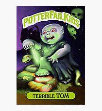 Potter Fail Kids - Terrible Tom - COLOR! Photographic Print