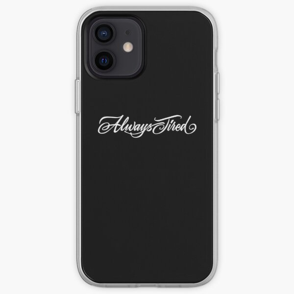Always Tired Post Malone Tee iPhone Soft Case