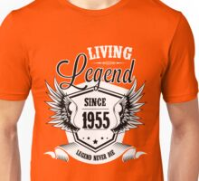 Living Legend Since 1955 Unisex T-Shirt