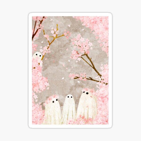 Cherry Blossom Party Sticker