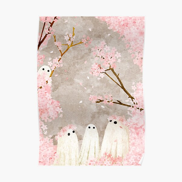 Cherry Blossom Party Poster