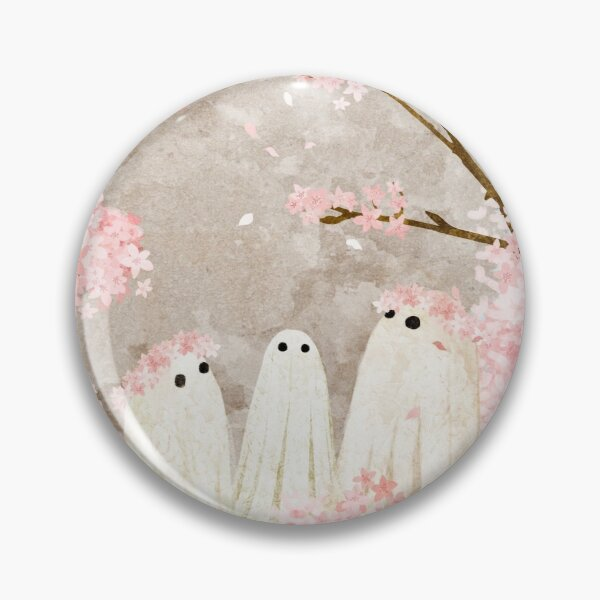 Cherry Blossom Party Pin