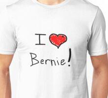 I love heart Bernie Sanders 2016 election  Unisex T-Shirt