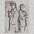 Sherlock and John by Jamie McCall