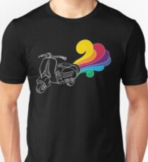 Scooter Illustration Unisex T-Shirt
