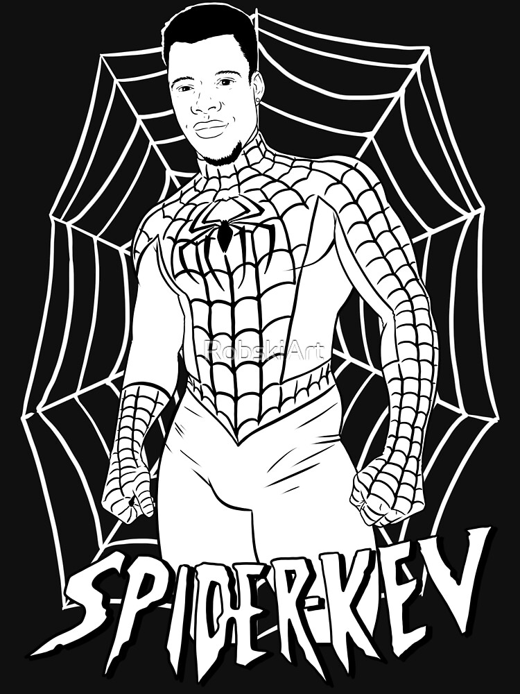 Spider-Kev white lines by RobskiArt