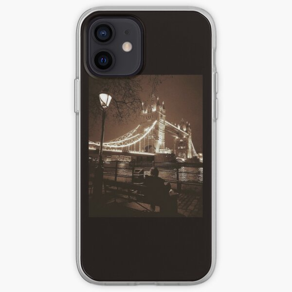 Tower Bridge by Night phone cover  iPhone Soft Case