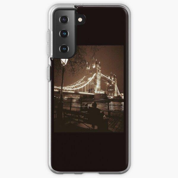 Tower Bridge by Night phone cover  Samsung Galaxy Soft Case