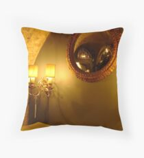 Mirror, Mirror On The Wall Throw Pillow