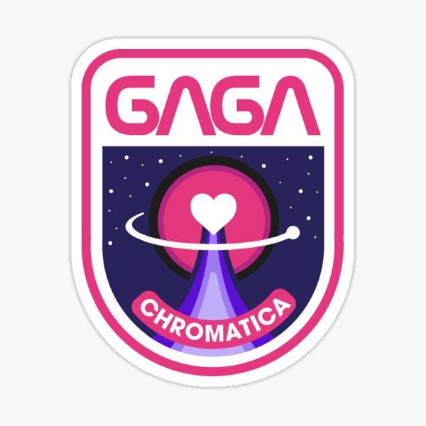 Lady Gaga Chromatica Mission Patch Sticker