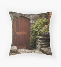 Facade Throw Pillow