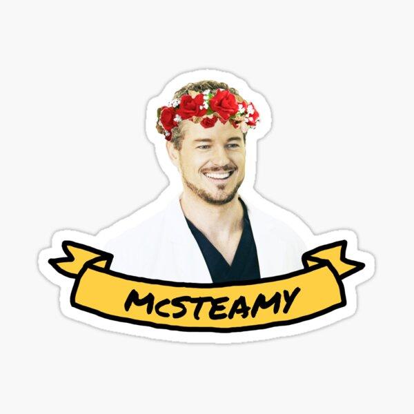 McSteamy Pegatina