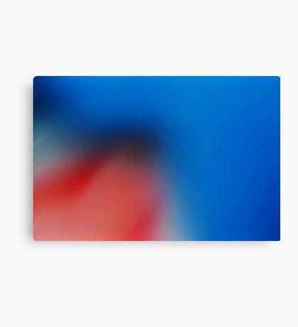 Smooth Blue Canvas Print