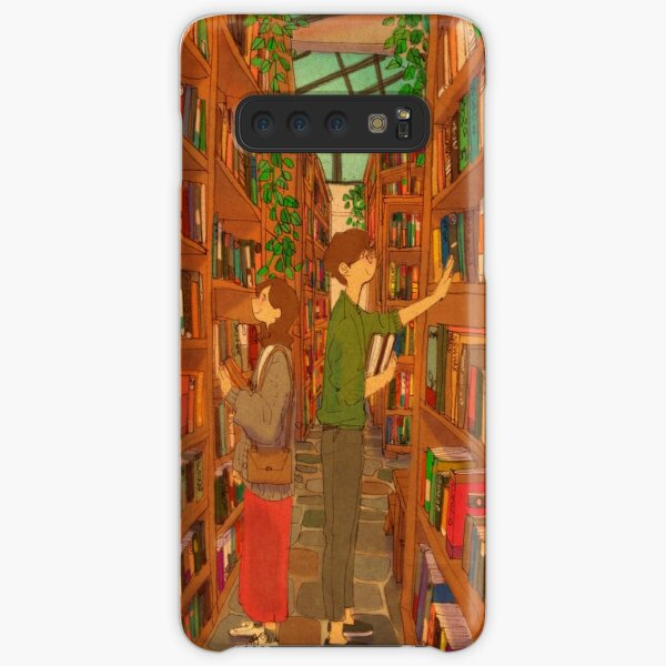 In the library Samsung Galaxy Snap Case
