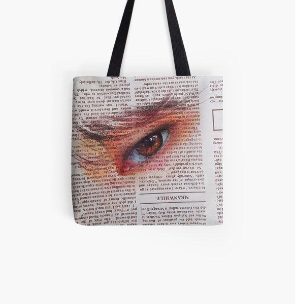 JM eye All Over Print Tote Bag