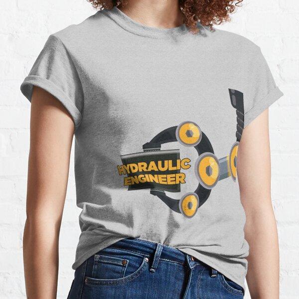 Ingeniero hidraulico Camiseta clásica
