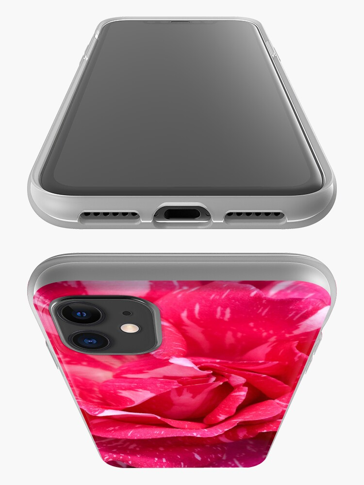 Alternate view of Variegated Rose iPhone Case & Cover