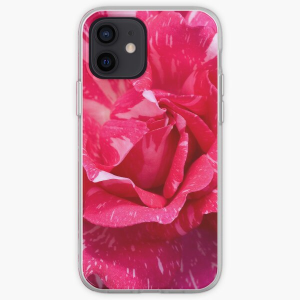 Variegated Rose iPhone Soft Case