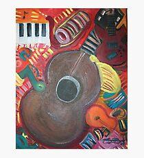 Instrumental Photographic Print