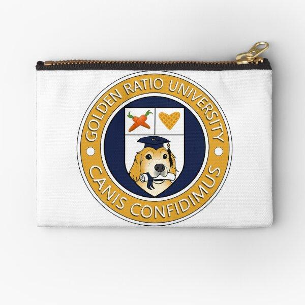 Golden Ratio University Seal Zipper Pouch