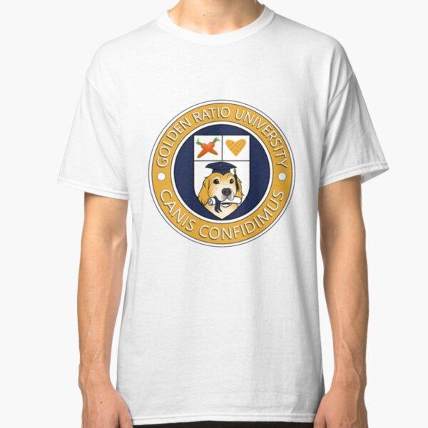Golden Ratio University Seal Classic T-Shirt