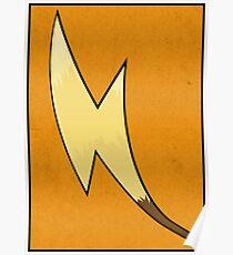 Raichu's Tail - Pokemon Art Poster Minimal Poster