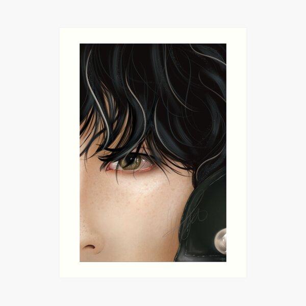 Taehyung fanart Art Print