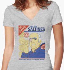 Saultighnes Women's Fitted V-Neck T-Shirt