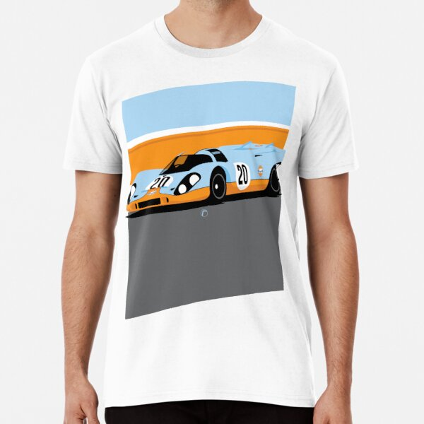 917 | Gulf Racing Premium T-Shirt