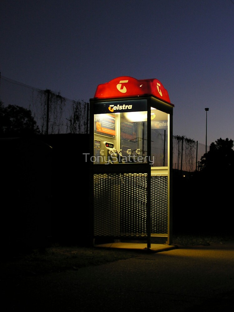 Telstra Rural Phone Booth by TonySlattery