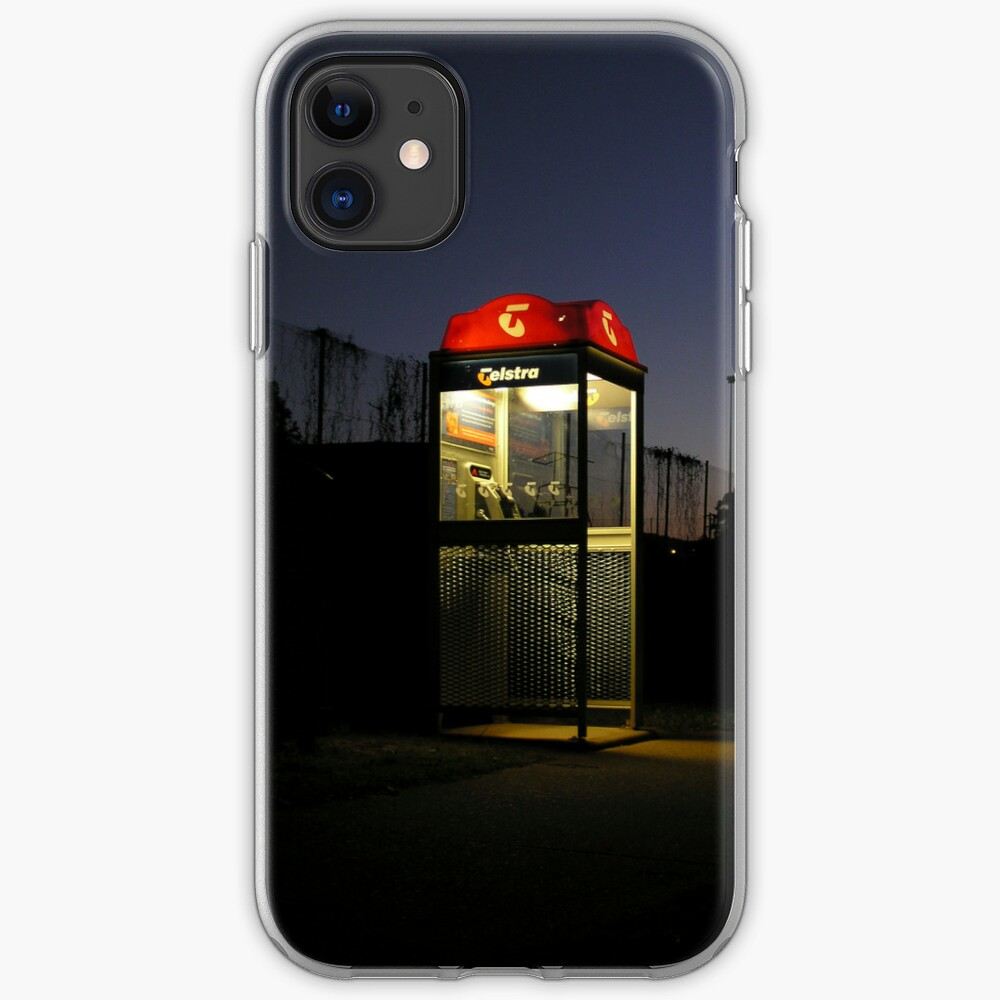 Telstra Rural Phone Booth iPhone Case & Cover