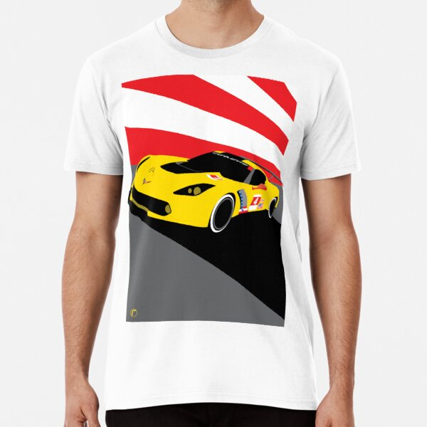 Corvette Racing | C7.R Premium T-Shirt