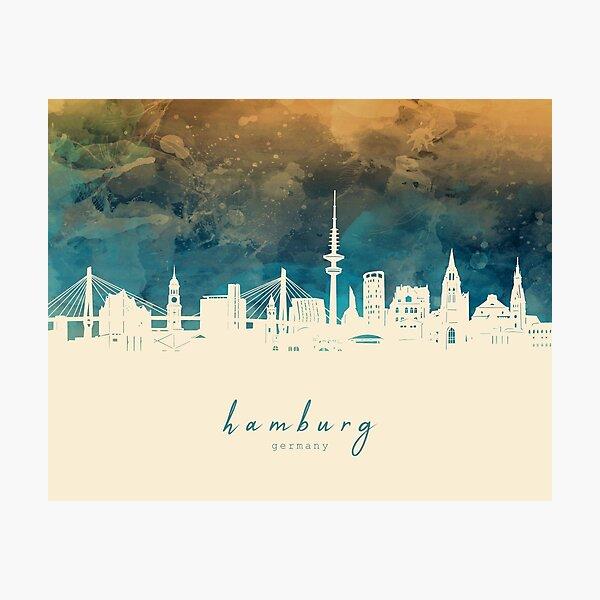 hamburg skyline Photographic Print
