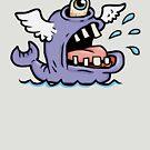 Cyclops Pegasus Whale  by Kirk Shelton