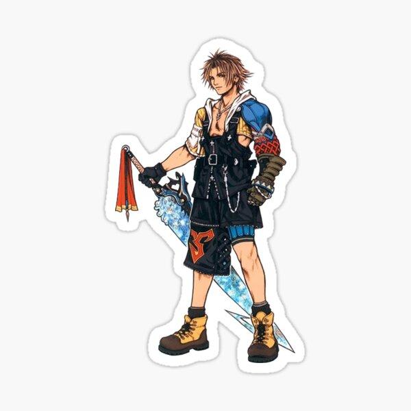 Final Fantasy X Tidus Pegatina