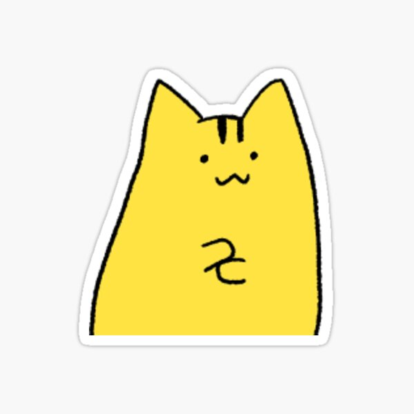 Pika Cat Sticker