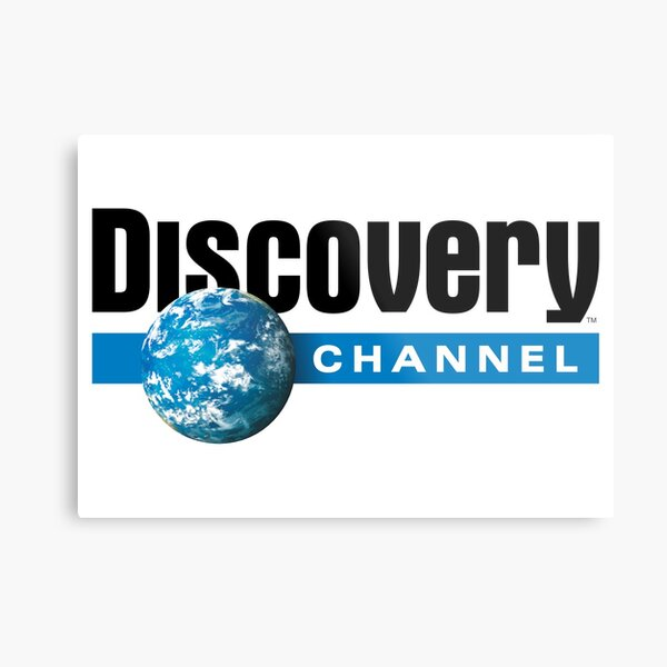BEST SELLER - Discovery Channel Metal Print
