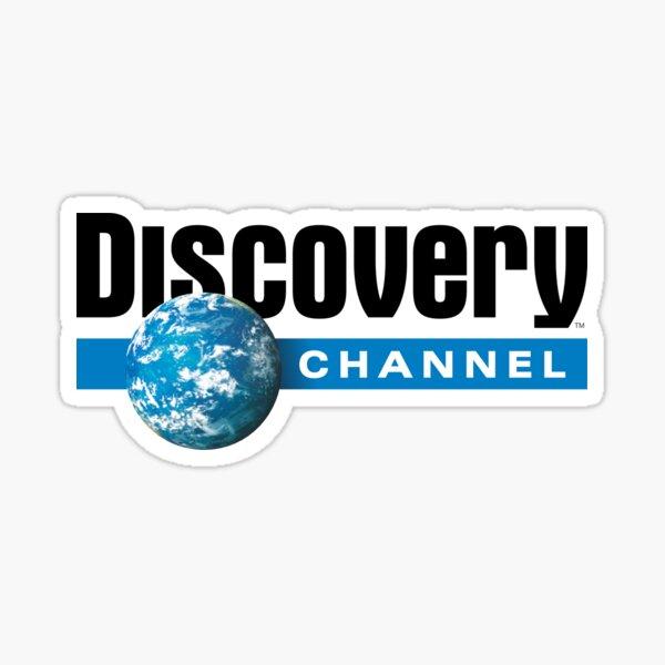 BEST SELLER - Discovery Channel Sticker